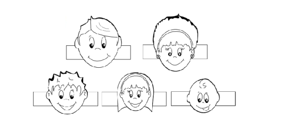 family finger puppets printable free
